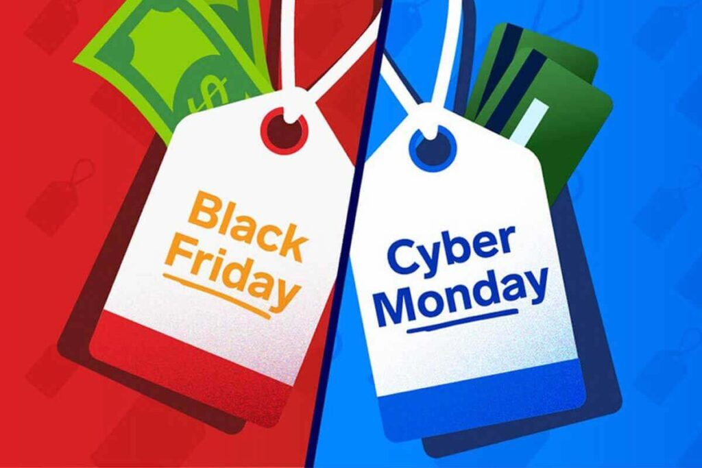 Deals on Black Friday and Cyber Monday Offers
