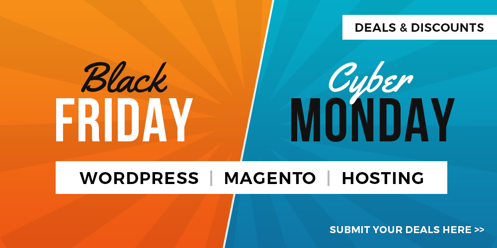 Web Hosting Deals on Black Friday and Cyber Monday Offers